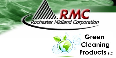 Green Cleaning Products offers Rochester Midland Green Janitorial Supplies and Green Cleaning Products
