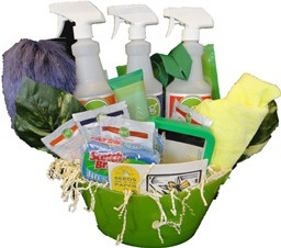 Green Cleaning Products offers Gift Basket